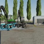 FORESTRY EQUIPMENT PACK V1.0 / FS19 packs