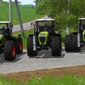 CLAAS XERION 3000 SERIES V1.1 / FS19 Tractors
