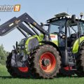 CLAAS AXION 800 SERIES (FIRST GENERATION) V2.0 / FS19 Tractors