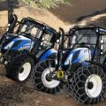 New holland T5 with forestry upgrade / FS19 Tractors