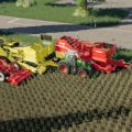 CARROTS, ONIONS AND CABBAGE CROPS V1.7 / FS19 packs