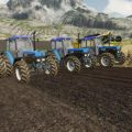 FORD NEW HOLLAND 40-SERIE PACK V1.0 / FS19 Tractors