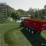 SELF LOADING WAGON RAPIDE 8400W V1.0 / FS19 Trailers