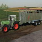 FLIEGL VIEHTRANSPORTER V1.0.0 / FS19 Trailers