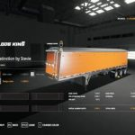 LODEKING DISTINCTION SMALL UPDATE BY STEVIE / FS19 Trailers