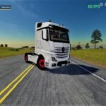 MERCEDES ACTROS MP4 V1.0.0.0 / FS19 Trucks