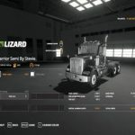 WARRIOR SEMI + WILSON PACESETTER TRAILER V1.0 / FS19 Trucks