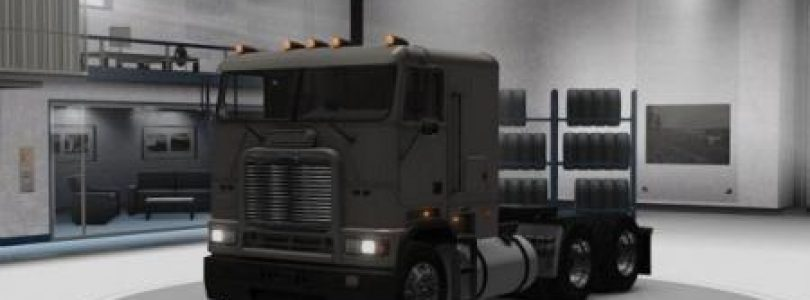 Freighliner FLB Fixed / American simulator Truck mod